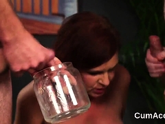 Randy Centerfold Gets Cumshot On Her Face Eating All 65drb