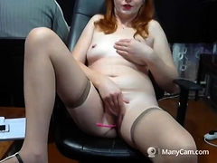 Solo Gal Venus Enjoys Anal Masturbation With Toys