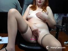 Solo Gal Venus Enjoys Anal Masturbation With Toys