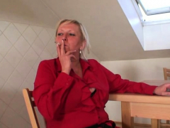 Very Old Busty Granma Pleases Two Boys Teen