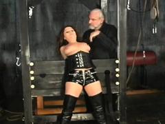 Nude Woman Thrashing Video With Extraordinary Thraldom