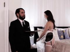 Kinky Maid Gets Ass Fuck