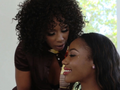 Chanell Is Contrived Onto Lesbo Sex