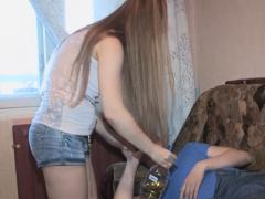 Charming Pretty Teen Fucks On Webcam