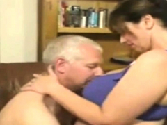 Busty Mature Woman Give Hardcore Blowjob