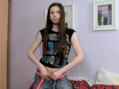 Teen Beauty Rides Dick