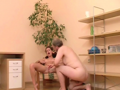 Inviting Amber Gets Licked And Gives Head