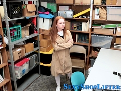 Amateur Shoplifter Banged