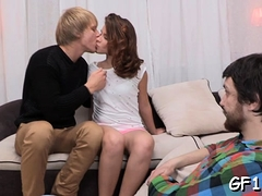Fresh Blonde Russian Diva Emma Brown Enjoys A Worthy Sex