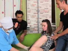 Doctor Watches Hymen Examination And Virgin Teenie Ba12elz