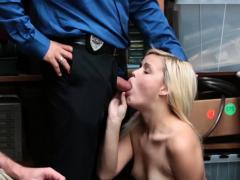 Cop Fucks Street Hooker And Hot Blonde Webcam Suspect And