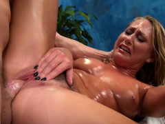 Charming Young Blonde Bimbo Carter Cruise Gets A Big Stick