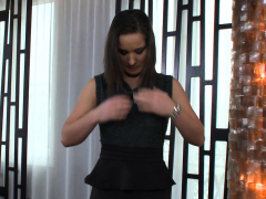 Glamcore European Beauty Gets Anally Drilled