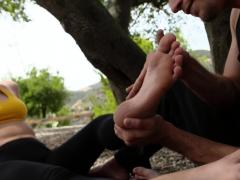 Beauties Feet Worshipped