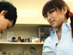 Lusty Busty Nipponese Kirara Kurokawa's Pussy Is Nailed Well