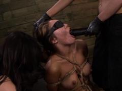 Pleasurable Slavery Collision Excites Submissive Blonde Babe