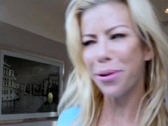 Alexis Fawx Sucks Huge Dick Of Stepson