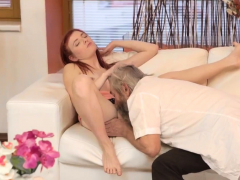 French Old Man Fuck Teen Unexpected Practice With An