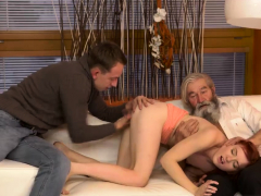 Old Man Hairy Girl And Guy Fucks Young Unexpected