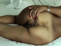 Asian Wife Show His Ass Ang Get Cock