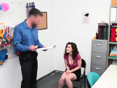 Lying Busty Teen Thief Busted And Banged By Security