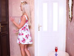 Sexy Blonde Milf Victoria Pure Is Celebrating Her Birthday,