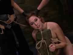 Naughty Thraldom Vixen Deepthroats A Dong Vibrator