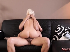 Old Anal Horny Blondie Wants To Attempt Someone Lil' Bit