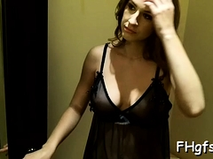 Attractive Gf Karina Fingered And Fucked Hard