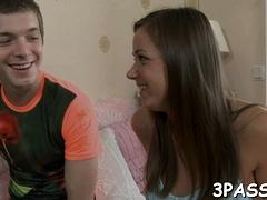Pungent Girlfriend Katrina Gets Hammered From Behind
