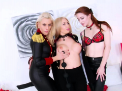 Three Extreme Anal Pornstars Ruining Their Asses