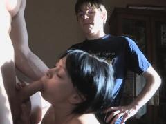 Mesmerizing Russian Brunette Lady Annette Enjoys Rod