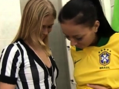 Fake Taxi Brunette Brazilian Player Poking The Referee