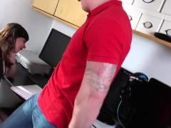 Luke Hardy - Milf Sara Sucks And Fucks Cock At Work