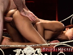 Hot Blonde Teen Tied Up And Shaved Pussy Poor Tiny Jade