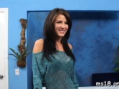 Pretty Honey Lexi Stone Enjoys Sex With A Random Buddy