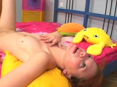 Aphrodisiac Redhead Chick Lilly Gets Filled Up To An Edge
