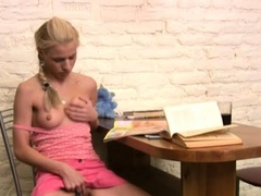 Stupefying Russian Blonde Diva Behaves Like Whore