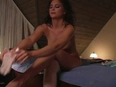 Horny milf in group sex