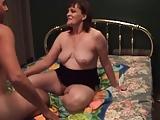 Mature Treats a Little Cock