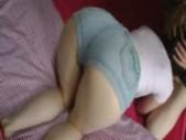 Hot Ass In Denim Shorts Sucks Boyfriend!