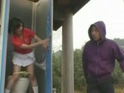 Japanese schoolgirls groped at toilet