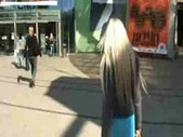 Blonde really likes sex in public places www.beeg18.com