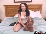 Alexia Riley is a brunette schoolgirl, who got ex
