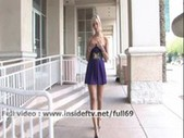 Gorgeous amateur blonde toying with her b ...