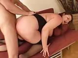 Cute Young Plumper Plays and Fucks