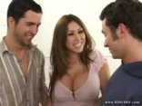 Kianna Dior Gets A Two Hard Cock In A Massive Blowjobs
