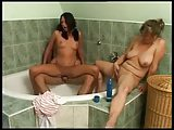 mother and teen girl fucked